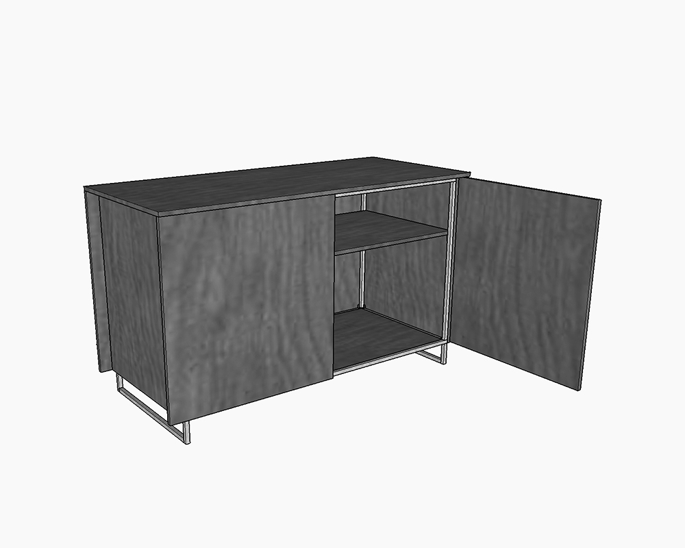 Simple Credenza Design