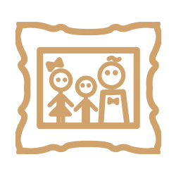icon of framed family photo